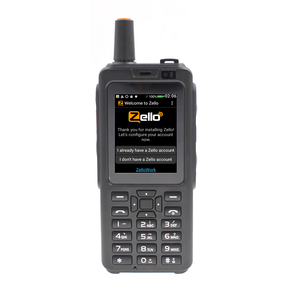 F40 Zello PTT Walkie Talkie telefon sieciowy Radio wifi Radio Android 6.0 Bluetooth GPS IP56 wodoodporny na dwie karty sim Smartphone w Krótkofalówki od Telefony komórkowe i telekomunikacja na AliExpress - 11.11_Double 11Singles' Day 1