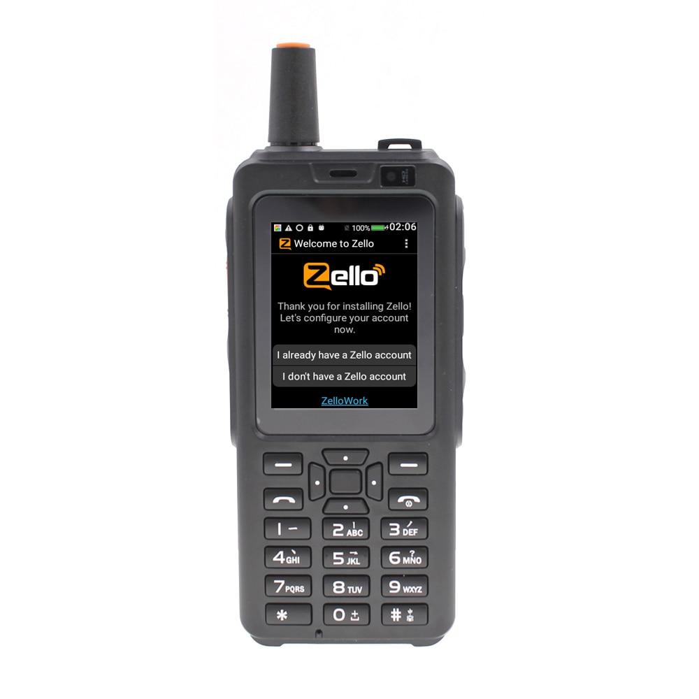 F40 Zello PTT トランシーバー電話ネットワークラジオ Wifi ラジオアンドロイド 6.0 の Bluetooth Gps IP56 防水デュアルカードスマートフォン  グループ上の 携帯電話 & 電気通信 からの トランシーバー の中 1