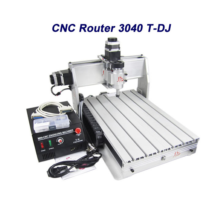 Free tax to Russia Desktop cnc milling machine 3040T-DJ Router Engraving Drilling lathe eur free tax cnc 6040z frame of engraving and milling machine for diy cnc router