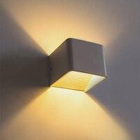 3 واط 5 واط الحديثة الجدار الشمعدان أدى الجدار مصباح الإضاءة ac85-265v الدافئة/الباردة الأبيض عن الدرج الممر الجدار الإضاءة