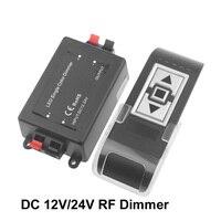 Led Dimmer 12 v 24 v Dimmer für Led Streifen Licht RF Drahtlose Fernbedienung Led Dimmer 24 v 12 V