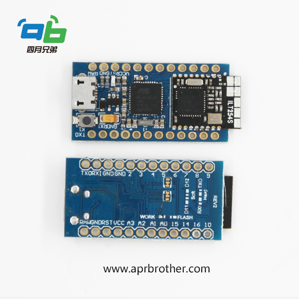 Arduino Module BlueDuino with iBeacon Tech Compatible Pro Micro+BLE arduino wav player 22 1khz voice play sound broadcast module compatible with rpi stm32