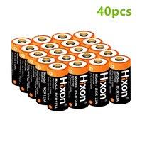 40 шт. UL сертифицированный 700 мАч 3,7 В RCR123A CR123A аккумуляторные батареи для Netgear Арло HD камер и Reolink