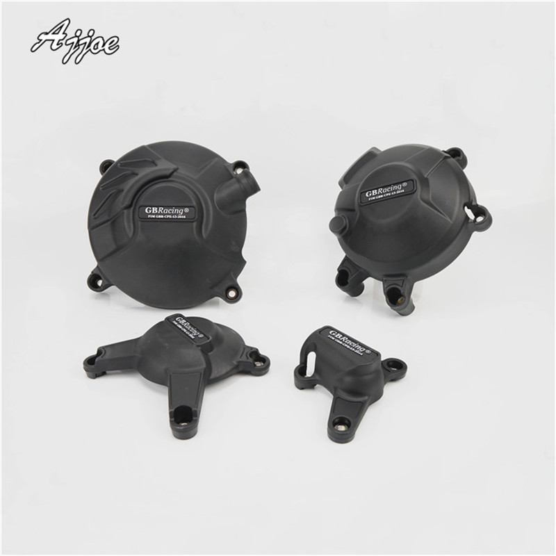 For MT-09 MT09 FZ-09 FZ09 2013-2016 Motorcycle Engine Cover Protection Case motorcycle engine cover protection case for mt 09 mt09 fz 09 fz09 2013 2017