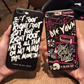 Trendy fashion Couple phone cases for man for women soft covers for iPhone 6 6s 6plus 6splus for iPhone 7 7plus Popular