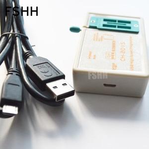 Image 2 - FREIES VERSCHIFFEN! Programm CH2015 USB High speed programmierer + 300mil FP16 zu DIP8 buchse eeorom/spi flash/data flash/AVR MCU programmierer