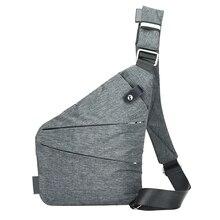 Новая мода Для мужчин холст рюкзак сумка Повседневное простые тонкие Anti Theft сумка мужской Sac основной Сумочка Pack