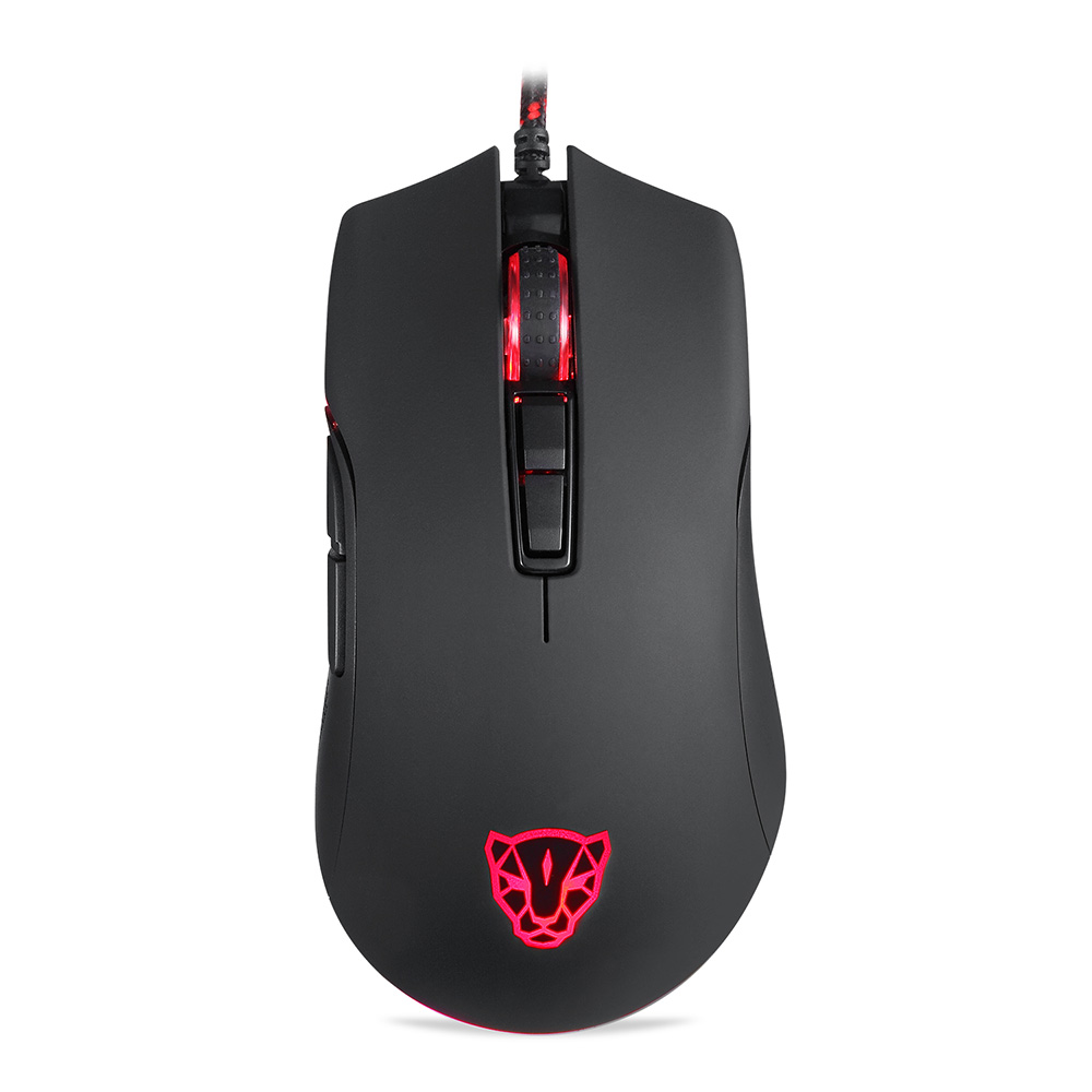 Motospeed V70 Gaming Mouse Professional USB Wired Gaming Mouse Gamer Mouse Computer Wried Optical Mice LED Backlight for PC i rocks im3 we usb 2 0 wired 3500dpi optical gaming mouse w backlight white