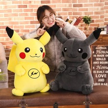 Pikachu Doll Toys Stuffed Children`s Gifts Plush toys Office&Home Pillows Novel Design Great Elasticity