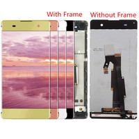 For Sony Xperia XA F3111 F3112 F3115 F3116 LCD Screen and Digitizer Assembly with Front Housing Replacement !!