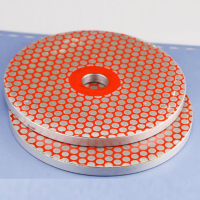 6 180/260/360 Grit Alloy Diamond Grinding Wheel Glass Grinding Disc Abrasive Power Tools for Processing Polishing Glass Edge