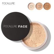 New Brand Focallure Makeup Facial Loose Powder Face Makeup Waterproof Loose Powder Skin Foundation Finish Powder 3 Colors
