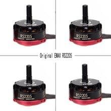 4pcs Original Emax RS2205 2300KV 2600KV Cooling Brushless Motor Quad FPV QAV250 Drone CW/CCW (Black Prop Nut) RS2205