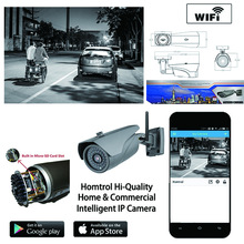 IP Camera WIFI Onvif 2.4 P2P for Smartphone Waterproof Vandal proof 30m IR Outdoor IP Cam with free PC software and APP(China)