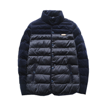 New 2017 Brand Winter Jacket Men Thick Warm Cotton Jacket Mens Autumn Outerwear Parka Mens Solid Coat M-5XL