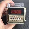 Реле времени Omron DH48S-S цифровой реле задержки таймера 0,1 S-99H часов цифровой таймер реле переменного тока 220V с Гнездо основание светильника в к...