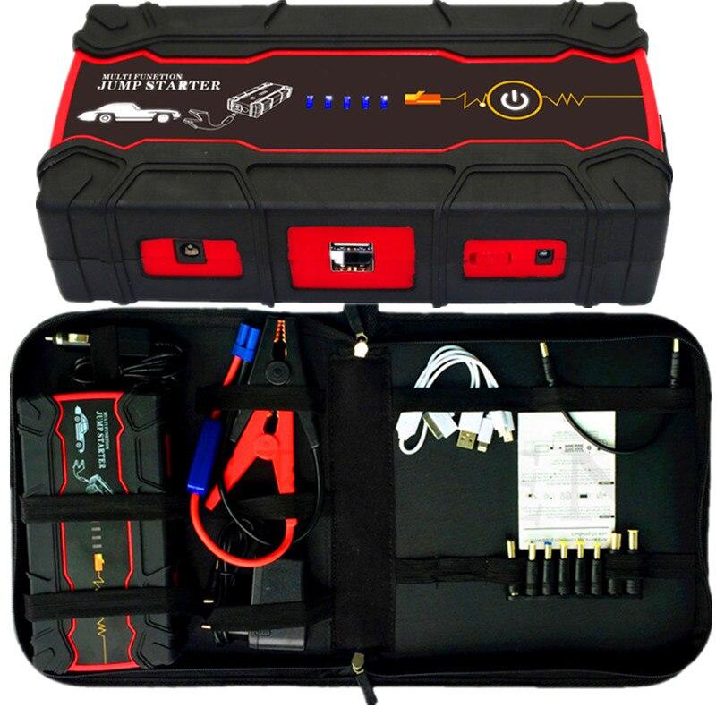 2019 Dispositif de Démarrage De Voiture Saut Démarreur 800A Pack de Démarrage De Voiture Portable batterie externe Chargeur pour la voiture amplificateur de batterie Essence Diesel CE