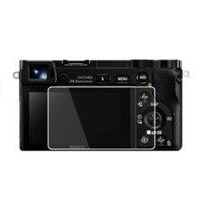 소니 알파 A6000 A6300 A6400 A5000 A6600 NEX 7/6/5/5N/5R/5T/3 카메라 스크린 필름 보호 커버 용 강화 유리 보호대
