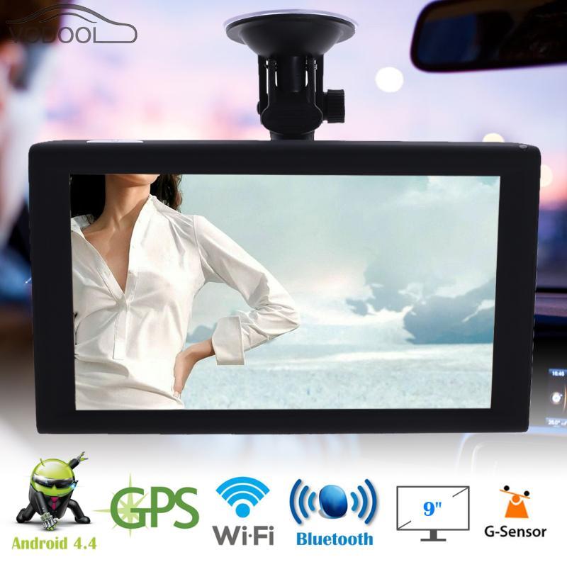 9 Android 4.4 Vehicle GPS Navigation Car Auto Truck Navigator Bluetooth Wifi Sensor Capacitive Screen MP3 Player FM Transmitter niorfnio portable 0 6w fm transmitter mp3 broadcast radio transmitter for car meeting tour guide y4409b