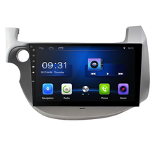 10.2 inch Quad Core Android 6.0 1G RAM 16G ROM  Car Radio for HONDA FIT JAZZ 2008-2011 with GPS steering wheel Free map