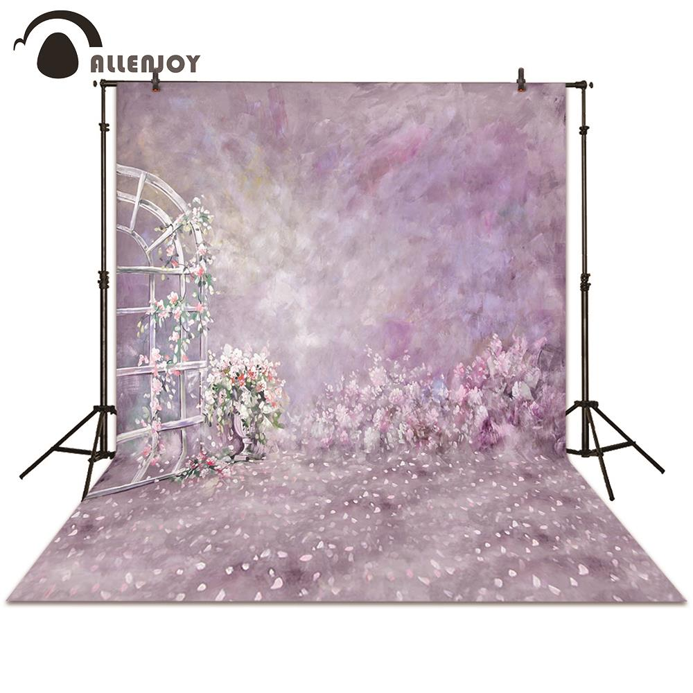 Allenjoy photography backdrops garden flower door pink backgrounds wedding newborn photocall photo booth 300 600cm 10ft 20ft backgrounds backdrop wedding photography backdrops grass covered door photography backdrops