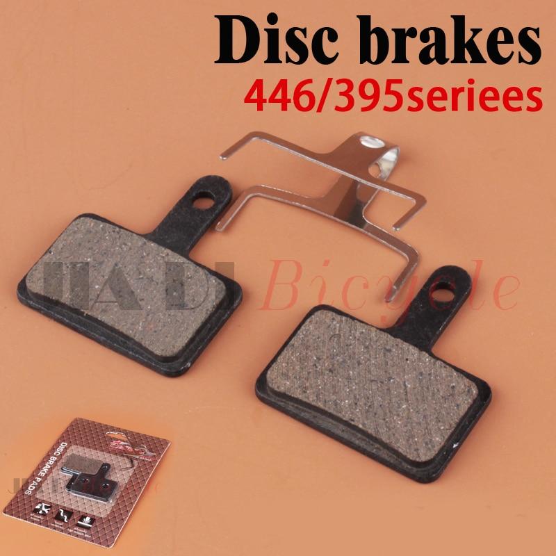MUQZI Disc Brake Pads High Temperature Resistance High Strength Resin Disc Brake Pad Mountain Bike Brakes M446 445 375 415 in Bicycle Brake from Sports Entertainment