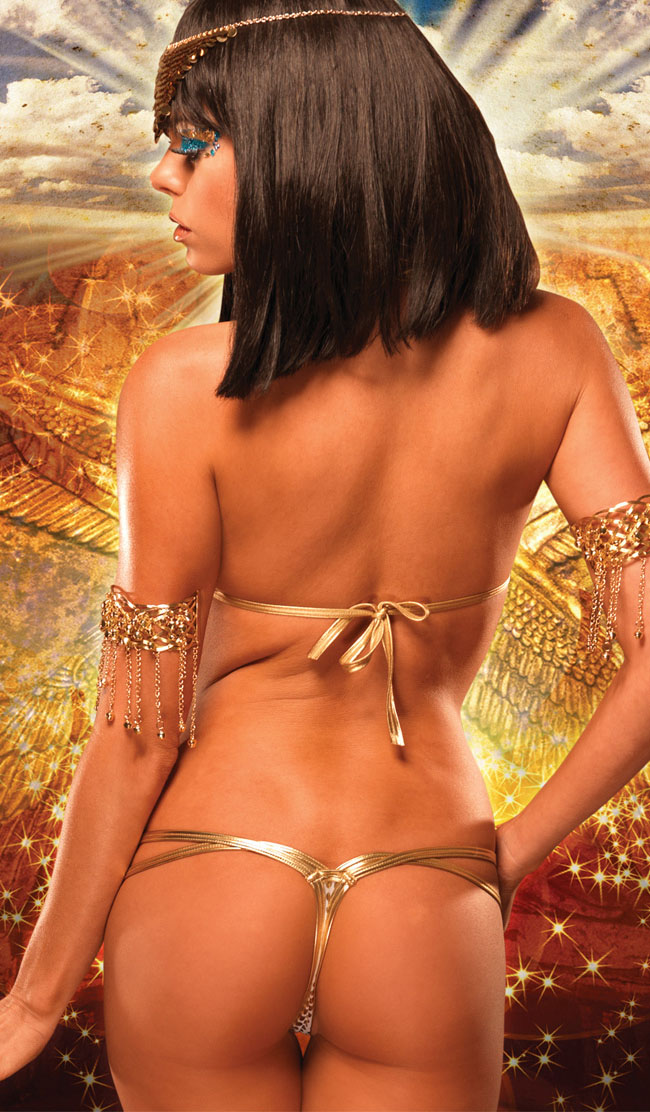 c5bda5befb8d sexy lingerie golden pvc underwear bikini top bra+pant 2pcs set -in  Lingerie Sets from Novelty & Special Use on Aliexpress.com   Alibaba Group