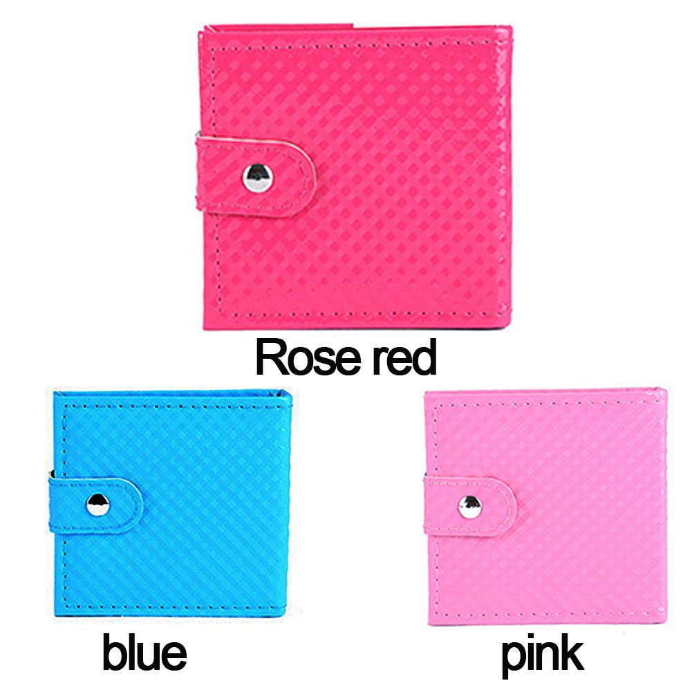 32 Color Portable Wallet Type Eyeshadow Tray Leather Eye Shadow Pearl Combination Eye Shadow Stick Lip Brush Makeup Mirror Blush Beauty Essentials Beauty & Health