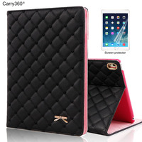 Case For IPad Pro 10 5 Carry360 Luxury Cute Bowknot PU Leather Stand Smart Cover For