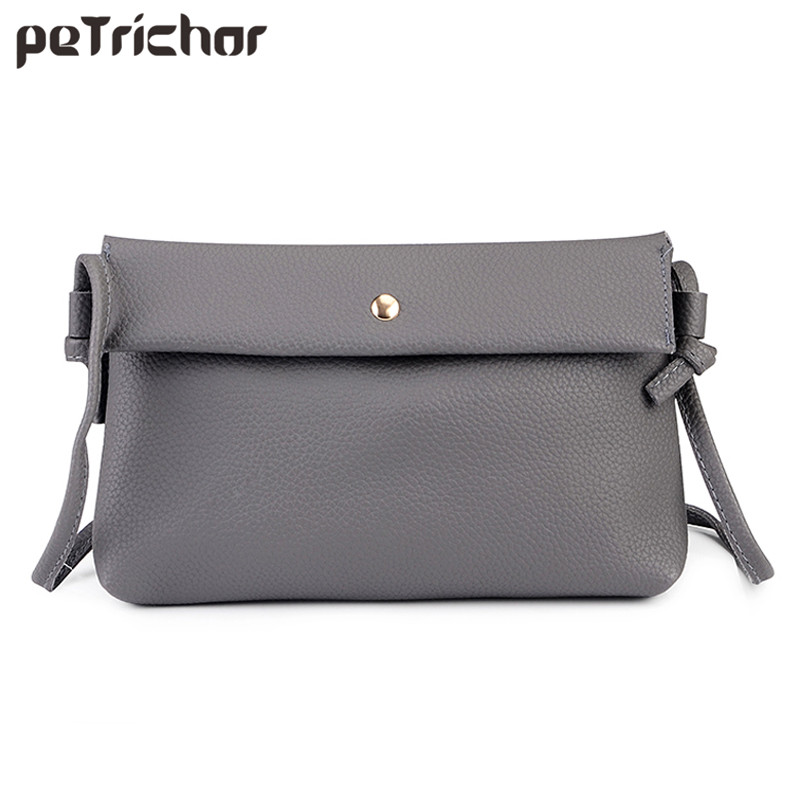 New Design Women Handbag Hasp Shoulder & Crossbody Bags PU Leather Fesyen Soft Female Day Clutches Pocket Phone Pocket Ladies Bag