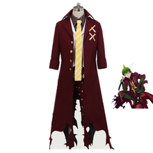 Ao no Exorcist Blue King of Earth Amaimon Cosplay Costume Custom Made Any Size 8/lot