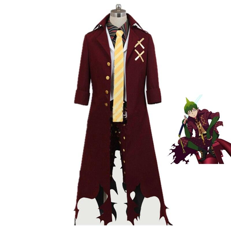 ao Nenhum Exorcista Rei da Terra Azul Exorcista Amaimon Cosplay Costume Feito Qualquer Tamanho 8 – Lot