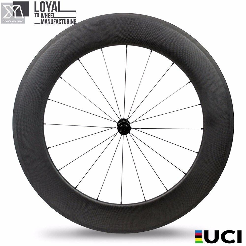 enduro carbon wheels glossy bicycle hubs toray carbon fibre bike road fixie rim disc road 700c wheel