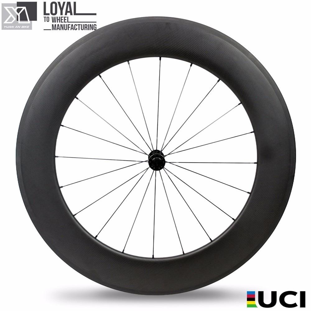 ruote in carbonio enduro lucido mozzi bicicletta toray bici in fibra - Ciclismo