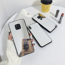 LISM Mirror Back Cover Phone Case For iPhone 6 7 8Plus X XR XS Huawei P20 P30 Nova3 4 Mate10 20 Honor10 8x V20 OPPO R11 R15 R17
