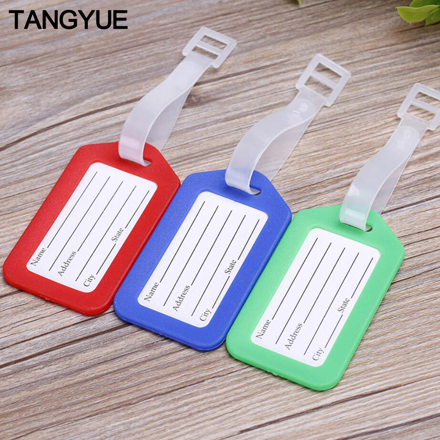 TANGYUE Label Luggage Tag For Travel Accessories Suitcase Identifier Tag For Suitcase Travel Accessory Flight Bag Baggage Tag
