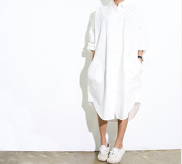 Long white shirt artee shirt Buy white dress shirt