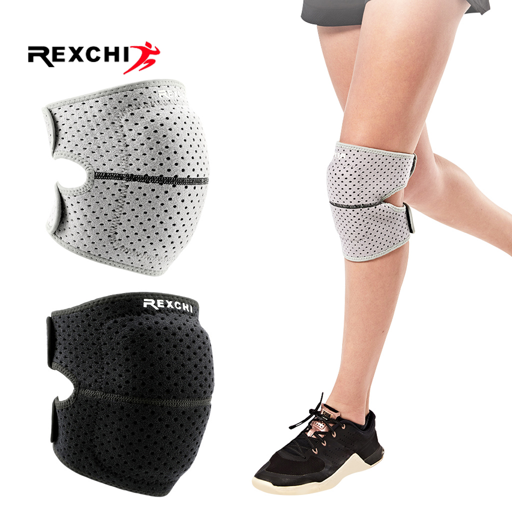 REXCHI EVA Knee Pads Men Women Elastic Kneepad Patella Brace Pressurize Support Basketball Running Fitness Protector Sports Gear