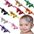 FEITONG Niosung Nova Menina Da Criança Do Bebê Headband Elastic Bowknot Headwear Crianças Acessórios Para o Cabelo