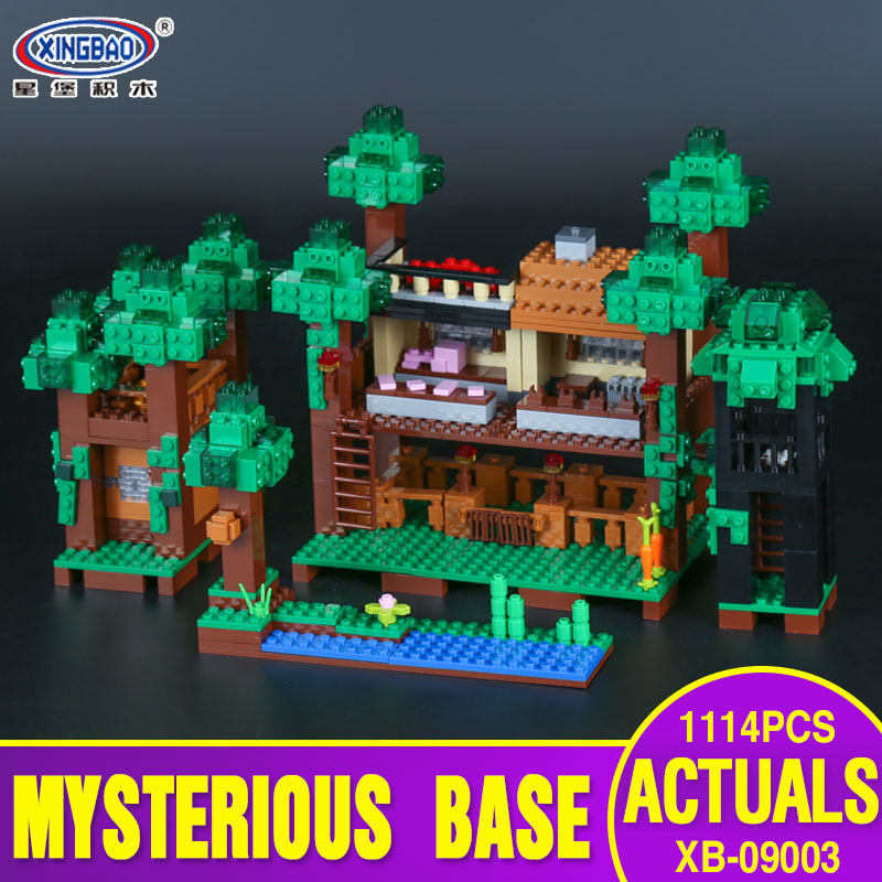 Xingbao 09003 1114Pcs Creative MOC Series The Mysteries of Base Set Children Educational Building Blocks Bricks Toys Model Gifts avenue of mysteries