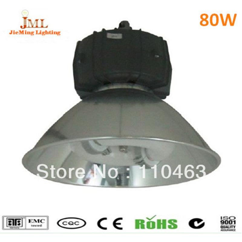 Hoogbouw industriële verlichting 80 W inductie lamp 6400lm Factor ...