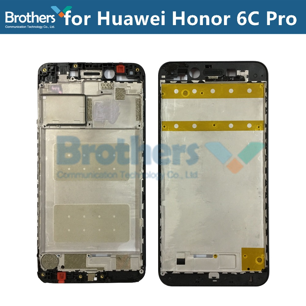 Front Frame For Huawei Honor 6C Pro LCD Frame Used Refurbish Original Front Housing For Honor 6C Pro LCD Bezel Phone Replacement