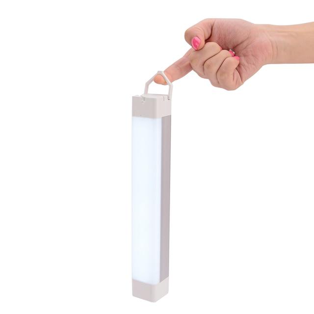 AUSIDA Rechargeable Camping Led Lantern Tent Portable Flashlight Night Lamp  LED Emergency Tube DIY Closet Cabinet