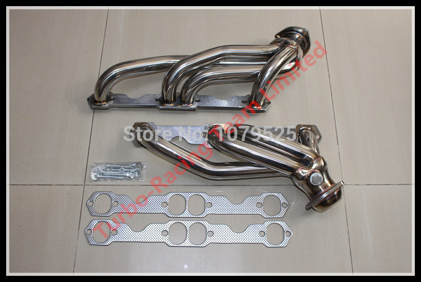 EXHAUST HEADER FOR Chevy GMC V8 88-97 5.0L 5.7L 305 350  Stainless Steel Headers Truck
