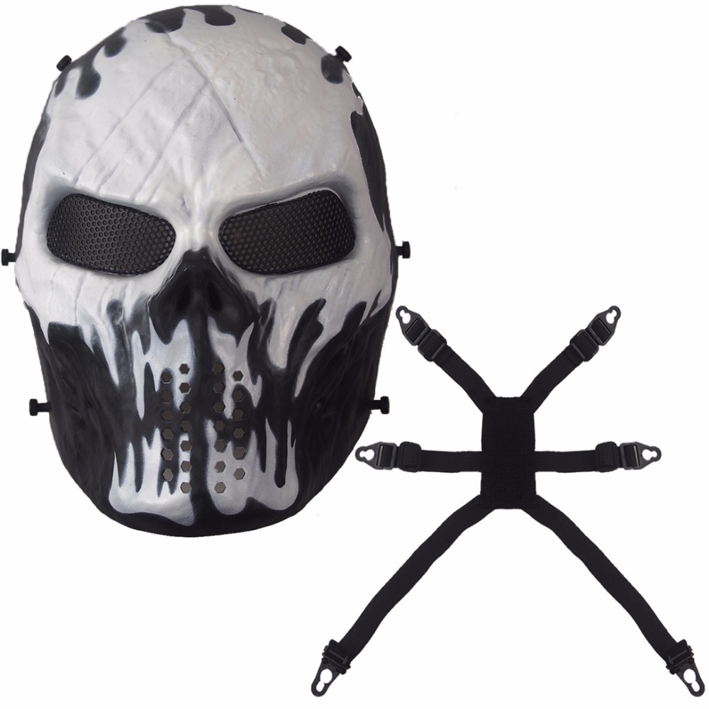 Aliexpress.com : Buy Ghost Camouflage Tactical Masks Outdoor ...
