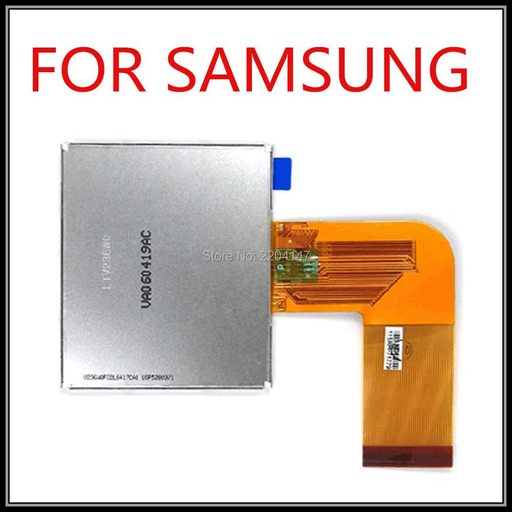 LCD Screen Module Replacement for Samsung L60 Digital Camera, (in frame, with backlight)