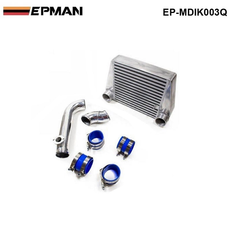 EPMAN -Intercooler Kit For MAZDA 13B ROTARY RX7 ICP EP-MDIK003Q epman universal 3 aluminium air filter turbo intake intercooler piping cold pipe ep af1022 af