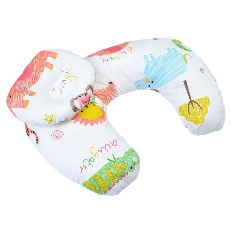 2 шт./компл. новорожденный уход для кормления хлопок поясничная Подушка для беременных Детские подушки для кормления младенцев Спящая кукла для кормления подушка - Цвет: 03