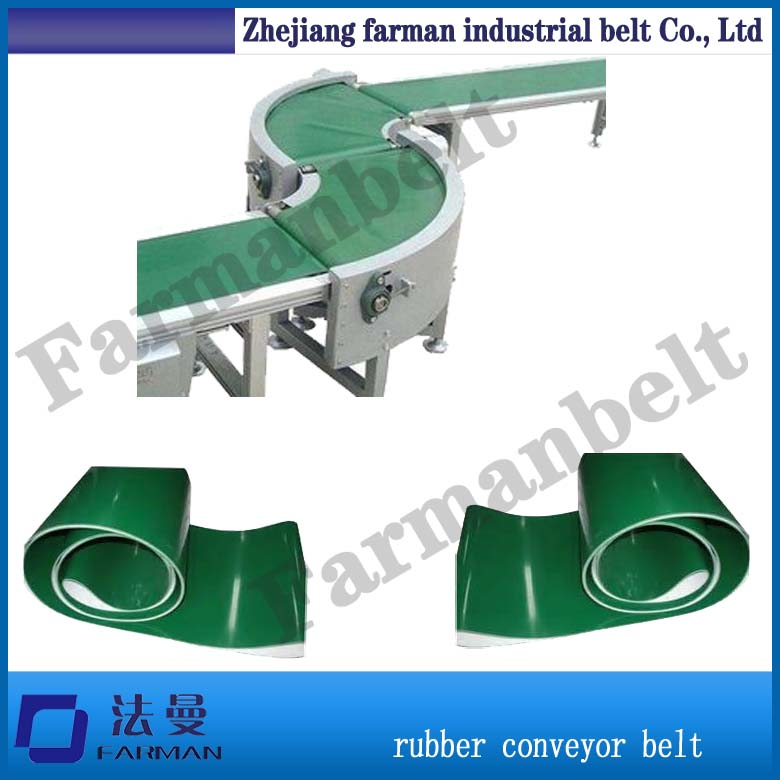 3ply anti static PVC Polyester roller conveyor belt portable motorized roller belt conveyor baggage checkin counters at airport security inspection machine drum motor drive roller