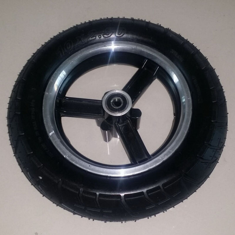 Electric Scooter Wheel Rim 8/10 Inch Scooter Wheel Hub Alumnium Alloy Wheel Frame for 10x2.50 Tire Electric Scooter ...